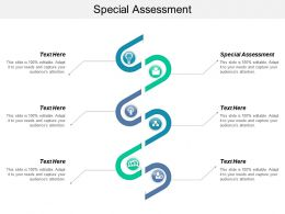 Special Assessment Ppt Powerpoint Presentation File Show Cpb