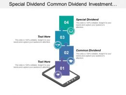 Special Dividend Common Dividend Investment Above Disciplined Capital