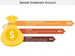 Special Investment Account Ppt Powerpoint Presentation Icon Tips Cpb