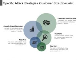 Specific Attack Strategies Customer Size Specialist Fastest Source