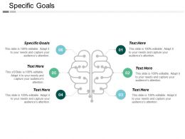Specific Goals Ppt Powerpoint Presentation Gallery Layout Ideas Cpb
