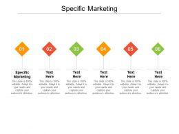 Specific Marketing Ppt Powerpoint Presentation Summary Samples Cpb