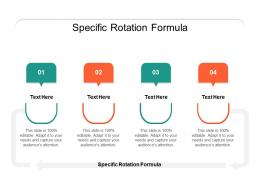 Specific Rotation Formula Ppt Powerpoint Presentation Summary Styles Cpb