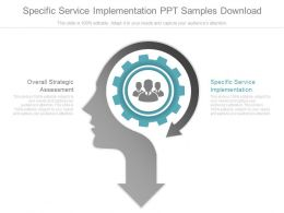 Specific Service Implementation Ppt Samples Download