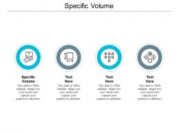 Specific Volume Ppt Powerpoint Presentation Inspiration Example File Cpb