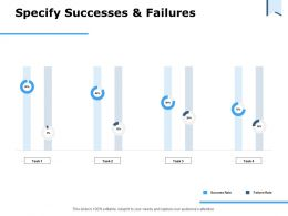 Specify Successes And Failures Ppt Powerpoint Presentation Slides Graphics Pictures