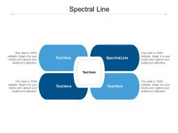 Spectral Line Ppt Powerpoint Presentation Introduction Cpb