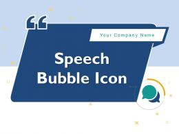 Speech Bubble Icon Conversation Information Process Gear Conversing