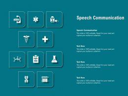 Speech Communication Ppt Powerpoint Presentation Ideas Gallery