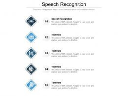 Speech Recognition Ppt Powerpoint Presentation Inspiration Layout Cpb