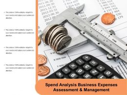 Spend Analysis Business Expenses Assessment And Management