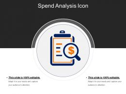 Spend Analysis Icons