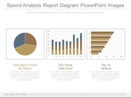Spend Analysis Report Diagram Powerpoint Images