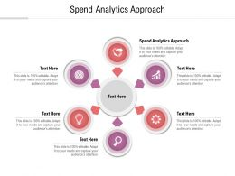 Spend Analytics Approach Ppt Powerpoint Presentation Slides Guide Cpb