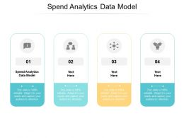 Spend Analytics Data Model Ppt Powerpoint Presentation Inspiration Clipart Cpb