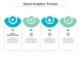 Spend Analytics Process Ppt Powerpoint Presentation Professional Background Image Cpb