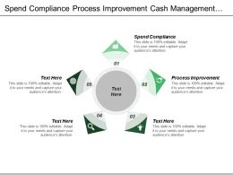 Spend Compliance Process Improvement Cash Management Manage Cash