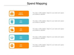 Spend Mapping Ppt Powerpoint Presentation File Slideshow Cpb