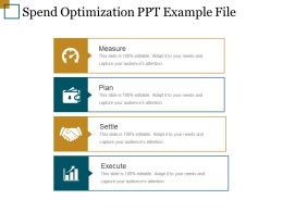 Spend Optimization Ppt Example File