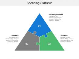 Spending Statistics Ppt Powerpoint Presentation Gallery Files Cpb