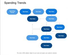 Spending Trends Ppt Powerpoint Presentation Icon Images Cpb