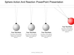 Sphere Action And Reaction Powerpoint Presentation