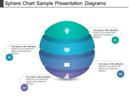Sphere Chart Sample Presentation Diagrams