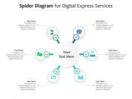 Spider Diagram For Digital Express Services