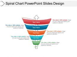 Spiral Chart Powerpoint Slides Design