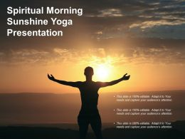 Spiritual Morning Sunshine Yoga Presentation