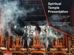 Spiritual Temple Presentation