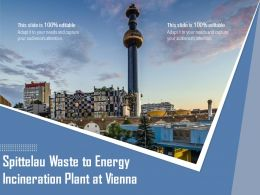 Spittelau Waste To Energy Incineration Plant At Vienna