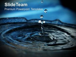 Splashes Of Water Environment Powerpoint Templates Ppt Themes And Graphics 0213