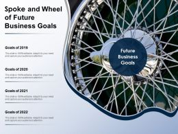 Spoke And Wheel Of Future Business Goals