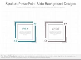 Spokes Powerpoint Slide Background Designs