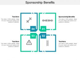 Sponsorship Benefits Ppt Powerpoint Presentation Professional Cpb