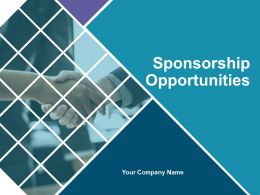 Sponsorship Opportunities Powerpoint Presentation Slides