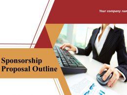 Sponsorship Proposal Outline Powerpoint Presentation Slide