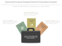 Sponsorship Proposal Template Powerpoint Presentation Examples