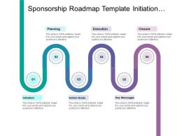 Sponsorship Roadmap Template Initiation Action Goals Key Messages