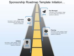 Sponsorship Roadmap Template Initiation Planning Key Messages