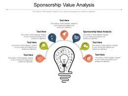 Sponsorship Value Analysis Ppt Powerpoint Presentation Show Skills Cpb