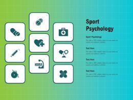 Sport Psychology Ppt Powerpoint Presentation Infographics Templates