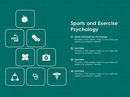 Sports And Exercise Psychology Ppt Powerpoint Presentation Layouts Format