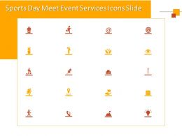 Sports Day Meet Event Services Icons Slide Ppt Powerpoint Presentation Example 2015