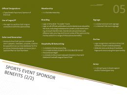 Sports Event Sponsor Benefits Ppt Powerpoint Presentation Infographics Clipart