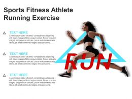 Sports Fitness Athlete Running Exercise