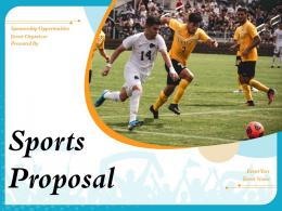 Sports Proposal Powerpoint Presentation Slides