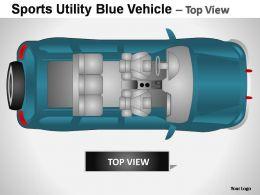 sports_utility_blue_vehicle_top_view_powerpoint_presentation_slides_Slide02