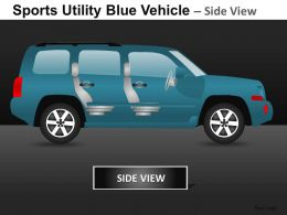 Sports Vehicle Side View Powerpoint Presentation Slides DB